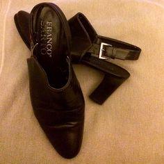 "Franco Sarto Leather Slide On """"Boots"""" - 7.5m"