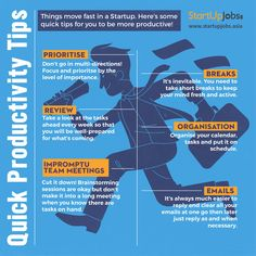 Quick #Productivity #Tips!   Visit: http://www.startupjobs.asia