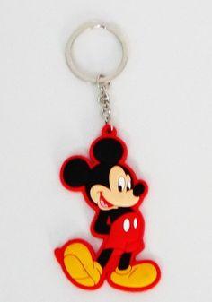 Chaveiro em borracha Mickey - M&M Presentes