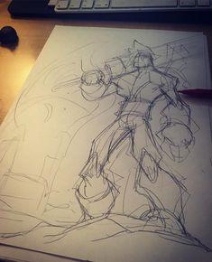 Cloude#manga #marvel #dc #disney #basel #comic #capcom #anime #nerd #imagecomics #characterdesign #cartoon #nintendo #art #graffiti #games #ink #fitness #doodles #drawing #sketches #sketchbook #geek #tattoos #illustration #cosplay #finalfantasy #supersmashbros #dragonballz #onepiece Action Pose Reference, Action Poses, Drawing Reference, Drawing Poses, Drawing Sketches, Sketching, Graffiti Games, Geek Tattoos, Male Figure Drawing