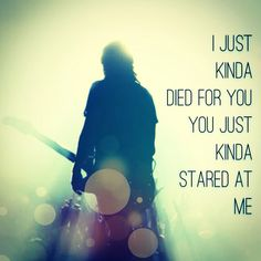 Foo fighters Aurora lyrics Dave Grohl I know its a song but its how I felt about someone a long time ago