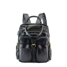 Stylish black color with functional pockets, the advantage of this Convertible Bag Backpack is its smart design,which guaranteed its security and flexible. Fashion Bags, Fashion Backpack, Mens Fashion, Backpack Bags, Leather Backpack, Leather Art, Best Bags, Travel Bag, Leather Handbags