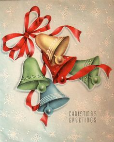 Christmas Bells Greeting
