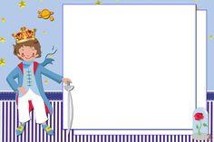 """Kit Aniversário Personalizado Tema """"Pequeno Príncipe"""" - Convites Digitais Simples"""