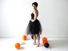 Easiest Ever DIY Tulle Skirt
