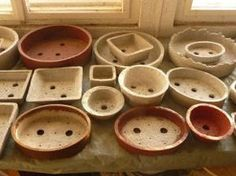 Inexpensive DIY Bonsai Pots ought to work for house plants too.