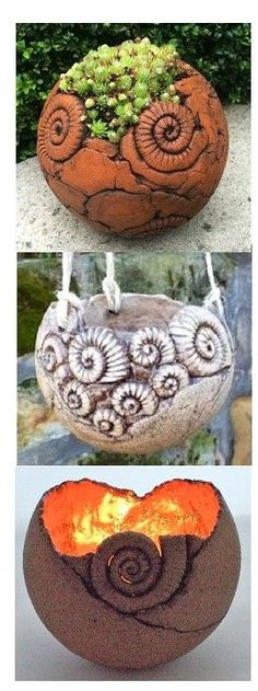 create pots with fairy home carvings - Pottery Pottery Teapots, Raku Pottery, Slab Pottery, Coil Pots, Pottery Handbuilding, Sculptures Céramiques, Pottery Designs, Pottery Ideas, Hand Built Pottery