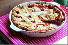 summer food, strawberryrhubarb pie, strawberri rhubarb, strawberries, pies