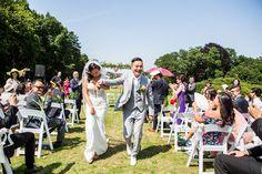 Buiten trouwen, outdoor wedding, de Wolfsberg, Groesbeek, Nijmegen, Arnhem, bruidsfotografie, ceremonie