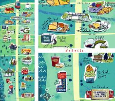 What Would Julie Draw? : Toronto Map