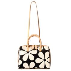 Snowdrop Printed Patent Leather Peggy Bag