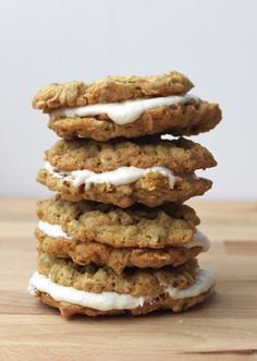 Smashed Peas and Carrots: Oatmeal Creme Pies {Gluten and Dairy Free}-RECIPE