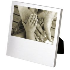 Dropped Bottom Brushed Aluminum 4x6 Photo Frame | Corporate Gifts - http://www.ignitionmarketing.co.za/corporate-gifts