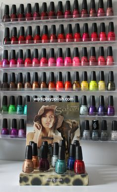 China Glaze On Safari Collection arrived - they even sent me the display! LOL