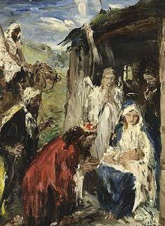 Aurél Náray, 1883-1948: Adoración de los magos.