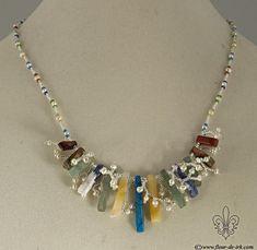 Anticipating summer necklace N1300 by Fleur-de-Irk.deviantart.com on @deviantART