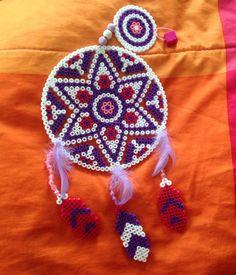 Dreamcatcher hama beads by Les-petites-creas-de-laura
