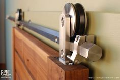 Sliding Barn Door Hardware - Stainless Steel, Oil Rubbed Bronze, and ...