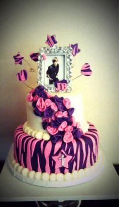Justin bieber cakee