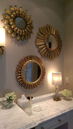 Home for the Holidays Designer Showhouse master bath detailing - LightsOnline Blog