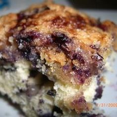 Blueberry Buckle I have made this recipe time and time again and it never fails!  It's delicious!