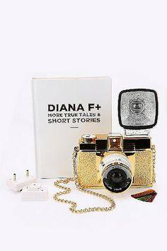 Lomography Diana F+ Gold Camera