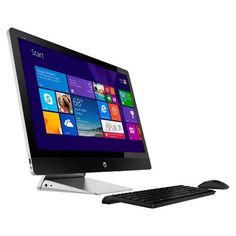 "HP - Recline 27 TouchSmart 27"" Touch-Screen All-In-One - Intel Core i5 - 12GB Memory - 1TB Hard Drive - Larger Front"