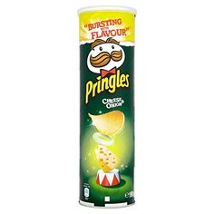 Original pringles crisps sour cream & onion High quality and fresh product directly from the manufacturer Perfect snack to go Savory Snacks, Snack Recipes, Amazon Auto, Potato Crisps, Sour Cream And Onion, Favorite Candy, New Flavour, Drinking Tea, Queso