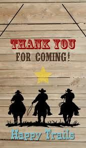 thank you card for a cowboy - Google Search