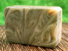 Zen Green Tea Soap  $4.50  Scent: cup of green tea steeping in a zen garden  Who will love it: tea drinkers, nature-lovers, and those that just want to relax  Color: creamy white with green swirls made from matcha tea powder  Size: At least 3.5 oz., often larger  Tell me more: Our Zen Green Tea soap is the perfect addition to your bath or shower to give a refreshing, relaxing, uplifting experience. Made with real brewed green tea and matcha green tea powder.  Ingredients: Camellia Sinensis ...
