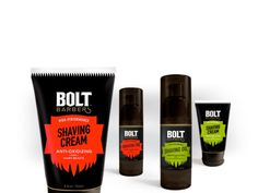 Bolt Barbers on Packaging of the World - Creative Package Design Gallery