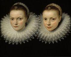 Cornelis de Vos: Two sisters (ca.1610-1615)