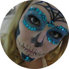 [DIY] Sugar Skull for Halloween