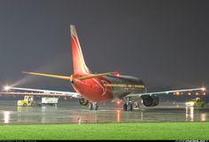 #Boeing 737-45D #aircraft #airport #gdansk