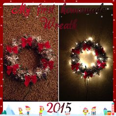 My 1st wreath.