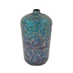 Found it at AllModern - Metal Mosaic Vase