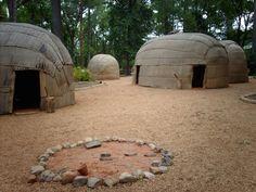 Powhatan Native-American Village at Jamestown Settlement, Jamestown, VA