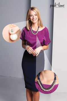 Dress it up or dress it down with park lane pearls! #falljewelry #jewelry #parklanejewelry #funwithbling