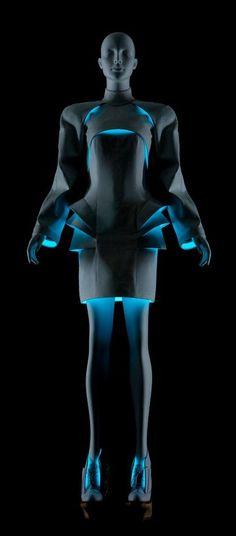 Future Fashion, Futuristic Clothing, Vega Zaishi Wang