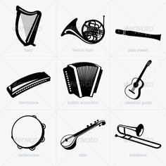 Realistic Graphic DOWNLOAD (.ai, .psd) :: http://jquery.re/pinterest-itmid-1005476673i.html ... Musical Instruments ...  accordion, acoustic, button, classic, concert, design, french, graphic, guitar, harmonica, harp, horn, icon, instrument, music, object, pipe, reed, shape, sitar, song, symbol, tambourine, trombone, vector  ... Realistic Photo Graphic Print Obejct Business Web Elements Illustration Design Templates ... DOWNLOAD :: http://jquery.re/pinterest-itmid-1005476673i.html