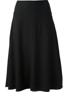 VANESSA BRUNO ATHÉ Long Crepe Skirt