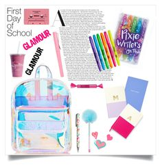 """""""Sparkle ❤️💙💚💜💛"""" by anduu19 on Polyvore featuring Skinnydip, Sharpie, John Lewis, Forever 21, Smythson, Kate Spade and Clinique"""