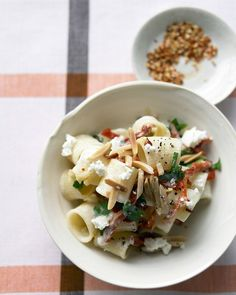 Goat Cheese and Sun-Dried Tomato Pasta - Martha Stewart Recipes