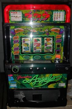 QUARTERS / TOKENS PACHISLO PARADISE ANGELS SLOT MACHINE / 268 PAGE MANUAL | Collectibles, Casino, Slots | eBay!