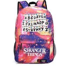 Best Stranger Things Backpack School Bags For Teenage collection from Missfox, affordable price, popular style and comfy material, time-limited sale, buy now. Stranger Things Season 3, Stranger Things Netflix, Stranger Things Stuff, Bobby Brown, Stranger Things Alphabet, Starnger Things, Photos Des Stars, School Bags, Cartoons