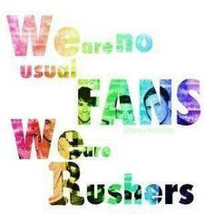 I love my Rusher family :)