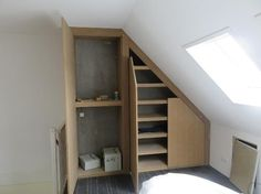 Built-in wardrobe under sloping ceiling wall. Your bedroom is not just a room in .