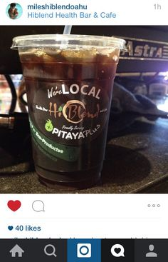 Local Waialua North Shore #hiblend  COLD DRIP COFFEE