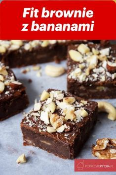 Healthy Deserts, Healthy Sweets, Snack Recipes, Healthy Recipes, Snacks, Fig Cake, Healthy Brownies, Sweet Tooth, Food And Drink