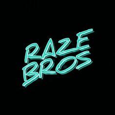 Current Raze Bros logo.
